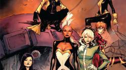 Il n'y a plus d'homme chez les X-Men. Où est passée la