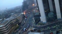 Un hélicoptère s'écrase dans le centre de
