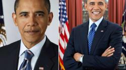 Le deuxième portrait officiel d'Obama (tout