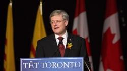 Le premier ministre Harper souligne le nouvel an lunaire