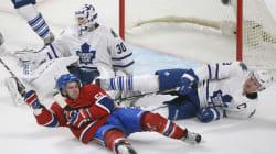 Le Canadien connaît un départ laborieux: défaite de 2-1 contre les Maple Leafs