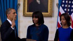 Obama prête serment en