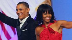 Michelle Obama éblouissante dans une robe rouge Jason Wu