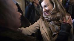 Réactions de joie à la libération de Florence