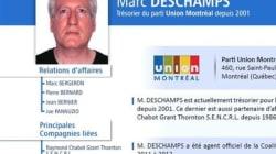 Marc Deschamps, agent officiel d'Union Montréal et... comptable de Paolo