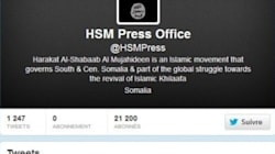 Le compte Twitter des shebab