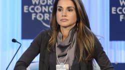 Regine e tacchi a spillo:siamo a Davos...
