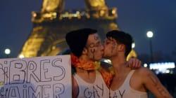 Manifestation pro-mariage gay: flop ou