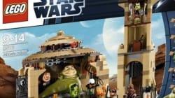 Une boîte Lego Star Wars jugée