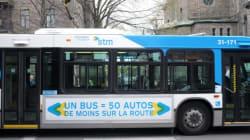 Un accident d'autobus de la STM fait 17 blessés dont le