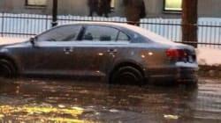 Importante inondation au centre-ville de Montréal