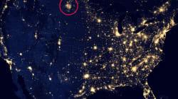 Les gaz brûlés du Dakota du Nord visibles depuis