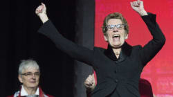 Kathleen Wynne, Ontario's New Premier, Sure Loves Her