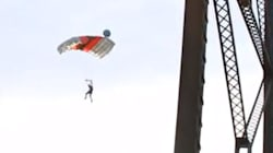 WATCH: 95-Metre Bridge Jump Called 'Stupid And