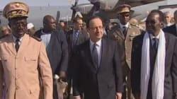 François Hollande en visite éclair au Mali pour laisser la