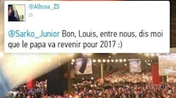 Son père, la politique... Louis Sarkozy se confie sur