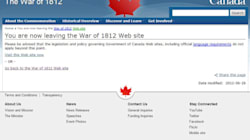 Exit Page Popular On Harper Government's War Of 1812