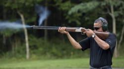 Barack Obama tire un