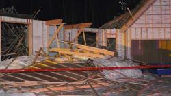 Un mort dans l'effondrement d'une maison en construction à