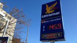 Forte hausse du prix de l'essence au
