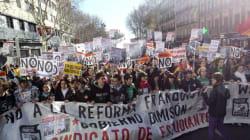 Los estudiantes volverán a la calle contra la reforma de