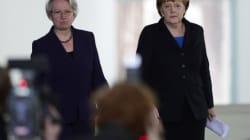 Allemagne: la ministre de l'Éducation démissionne pour