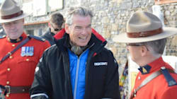 LOOK: What's Pierce Brosnan Doing Chatting Up Those