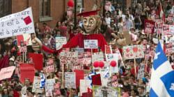 Manif du 22 mars: des dizaines de personnes