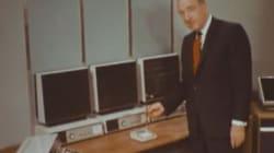 Voici le bureau du XXIème siècle telle qu'on l'imaginait dans les années