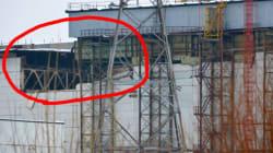 Effondrement à Tchernobyl, 80 employés