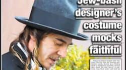 Galliano déguisé en juif: le New York Post est-il allé trop