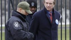 Bob Kennedy jr e figlio arrestati davanti alla Casa bianca