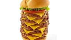 Dans ce burger à 9 étages, il y a 5100