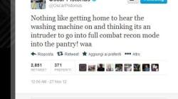 Oscar Pistorius: un tweet reprenant la théorie de l'erreur et du voleur
