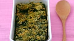 La recette du week-end: gratin d'épinards au