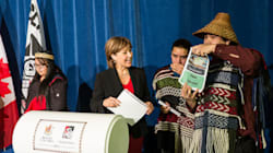 B.C. First Nation, Christy Clark's Big