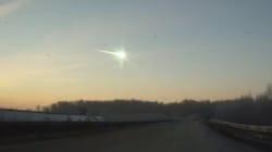 Une pluie de météorites s'abat en