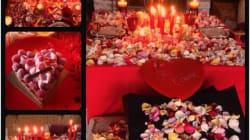 Pour la Saint-Valentin, Arnaud Lagardère n'a pas eu peur d'en faire