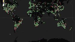 Découvrez la carte du monde des impacts de