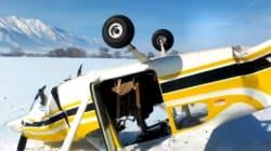 Un passager filme son propre crash en