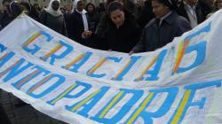 Da Trigoria al Burkina Faso, tutti i piazza per salutare Benedetto XVI