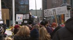 Mobilisation anglophone contre le projet de loi