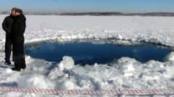 Russie : des fragments du météorite