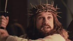 Jésus parodié à la sauce