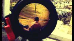 La photo d'un enfant dans un viseur fait