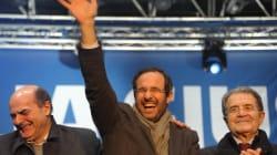 Il Pd e Prodi sperano nell'effetto rimbalzo di Grillo: danneggia la destra, relega Monti al quarto posto. Venerdì niente piaz...