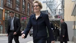 Wynne Promises 'Fair Society' In Throne