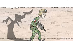 Afghanistan : Les soldats français marchent à