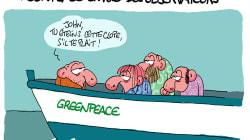 Fuite de gaz en Mer du Nord: Greenpeace envoie des