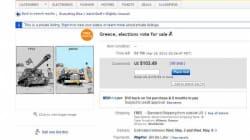 La Grèce mise en vente sur